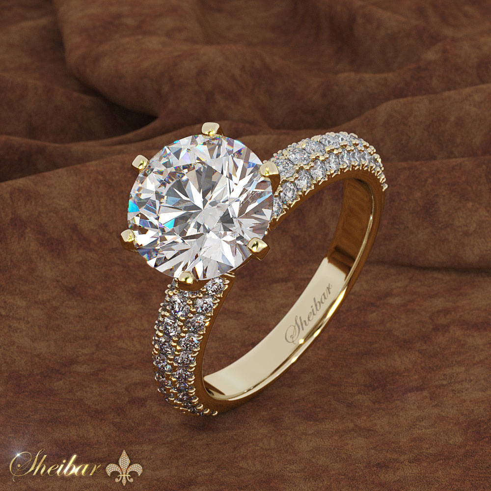 WHITE EVEREST RING