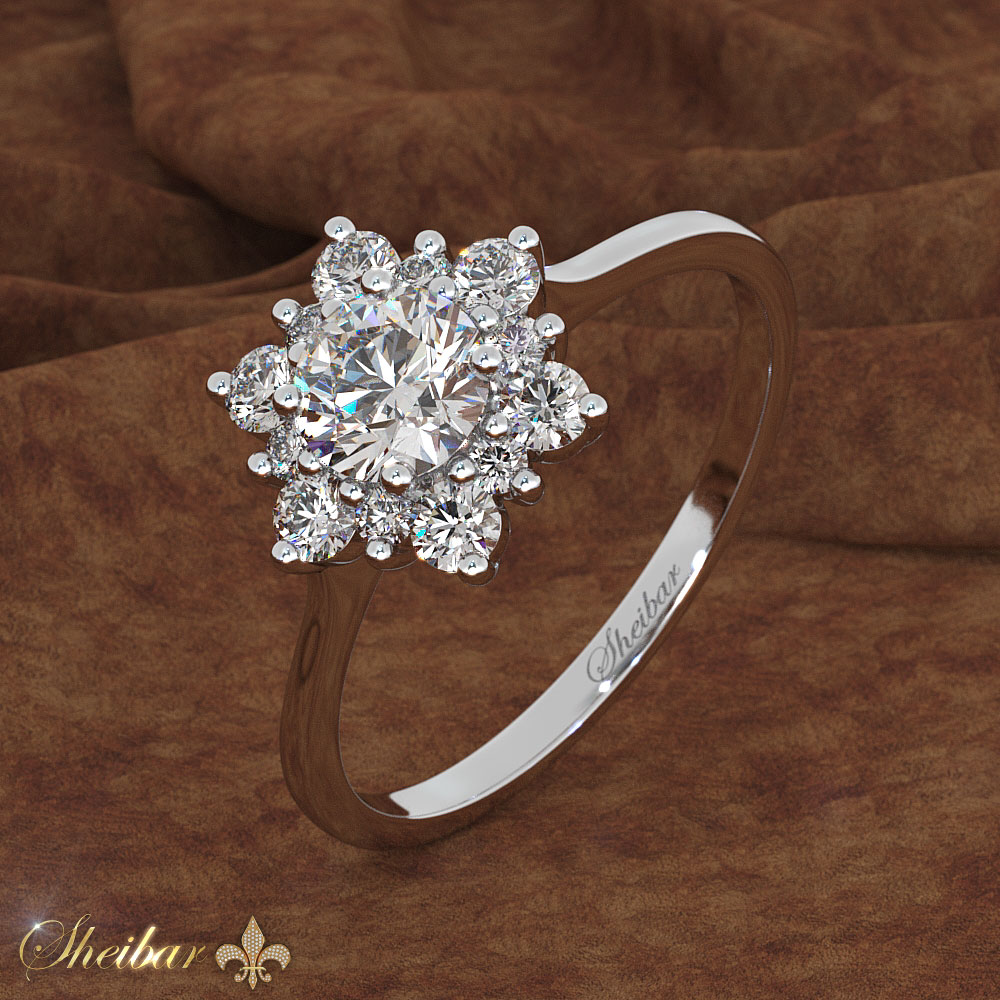 SNOWFLAKES RING