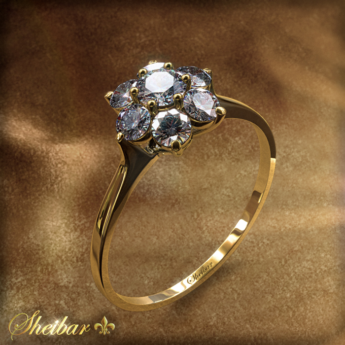 MINI SHOSHANA RING