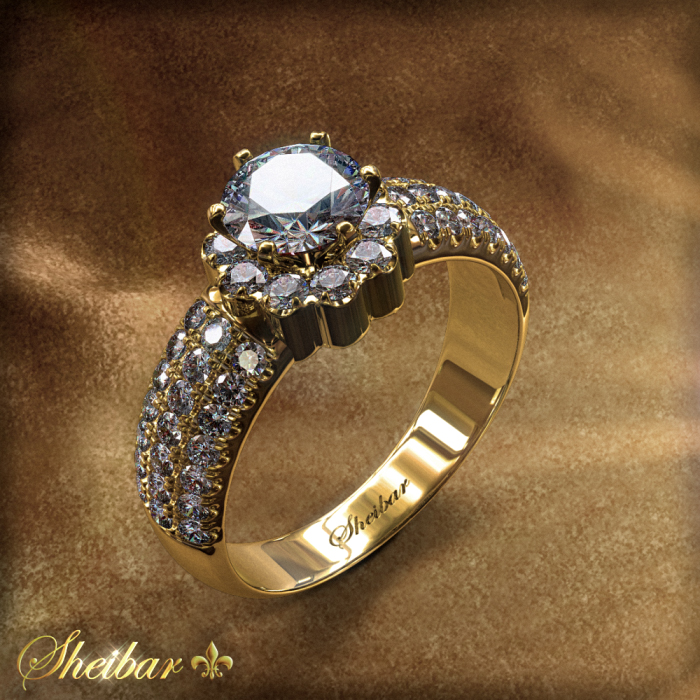 MERIDIAN FLOWER RING