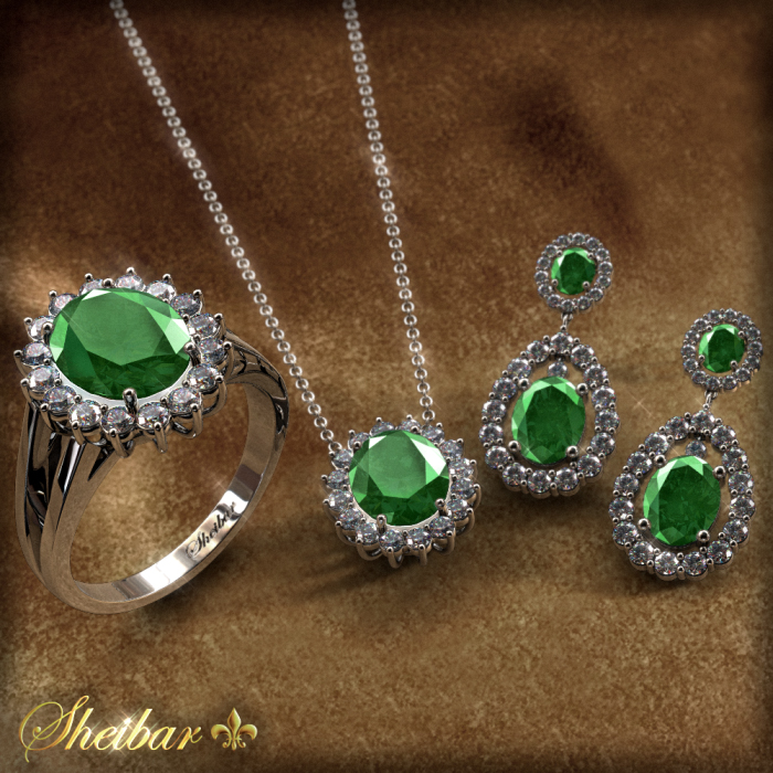 SET DIANA EMERALD