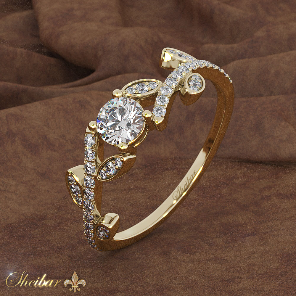 DIAMOND STALK RING